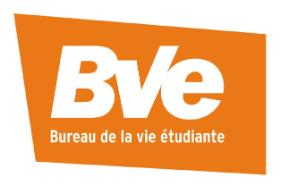 Bureau de la vie étudiante de l'Université Laval: https://www.bve.ulaval.ca/